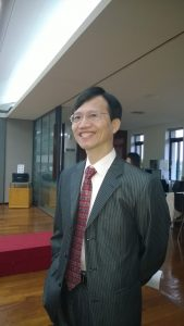 國立政治大學教育學系教授詹志禹。照片提供/詹志禹